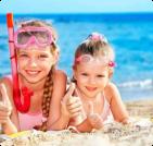 Отдых с детьми в  Береговом